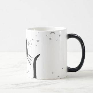 Kitty Kuro White Mugs