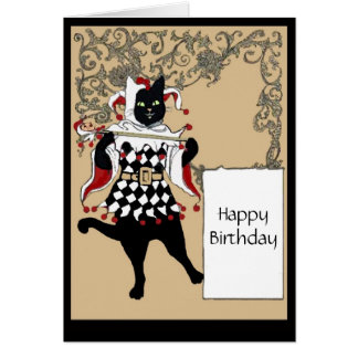 Kitty Letter Card