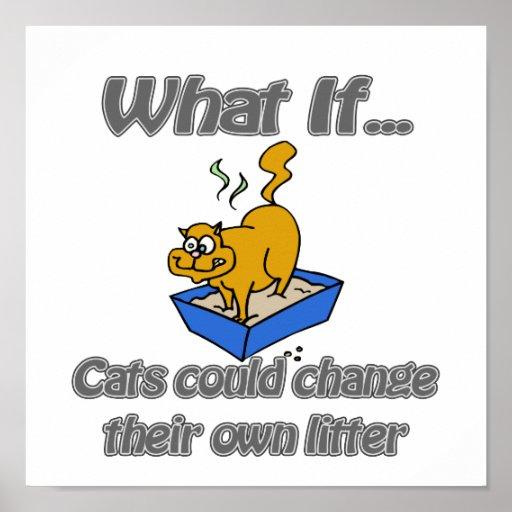 Kitty Litter Poster