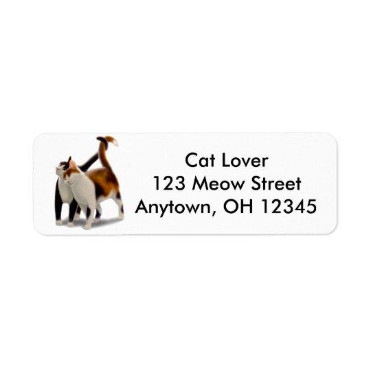 Kitty Love Avery Label