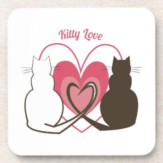 Kitty Love Coasters