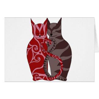 Kitty Love Greeting Card