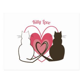 Kitty Love Postcard