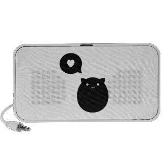 Kitty Love Notebook Speakers