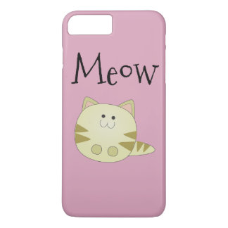 Kitty Meow Pink Case