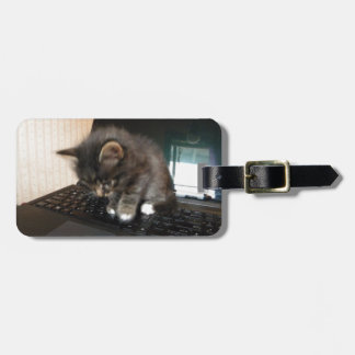 Kitty Mouse Luggage Tag