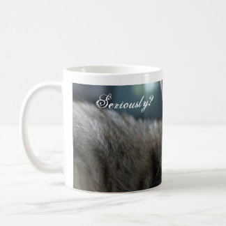 Kitty Mug-Seriously? Coffee Mug