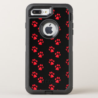 Kitty Paws OtterBox Defender iPhone 8 Plus/7 Plus Case