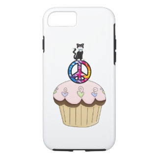 Kitty Peace Cupcake iPhone 8/7 Case