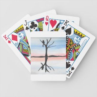 Kitty Reflected Bicycle Playing Cards