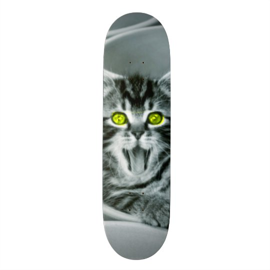 Kitty Screamer Custom Pro Park Board Skate Board Decks