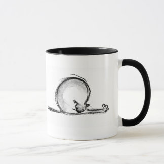 kitty stretch mug