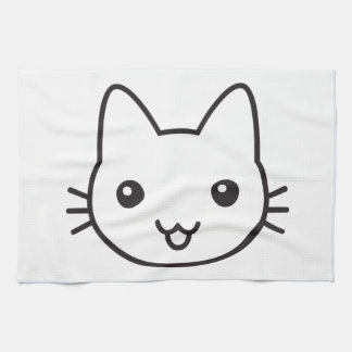 Kitty Tea Towel