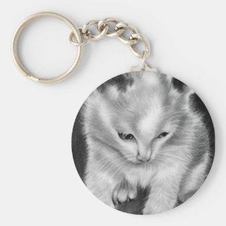 Kitty Toy Kitten Keychain