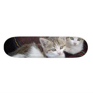 KITTY TWINS SKATE BOARD