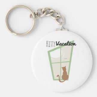 Kitty Vacation Key Chain