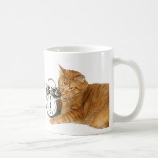 Kitty wake up coffee mug