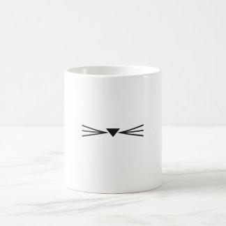 Kitty Whisker Basic White Mug