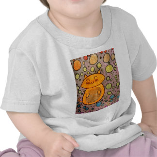 Kitty with Bubbles Tshirt
