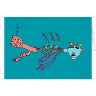 Kittycorn Card