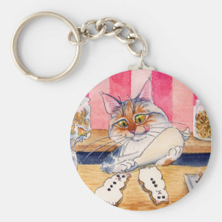 Kitty's bakery and sweets keychain