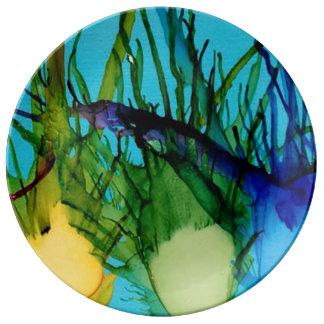 Kiwi Art Plate