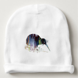 Kiwi Bird Art Baby Beanie