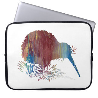 Kiwi Bird Art Laptop Sleeve