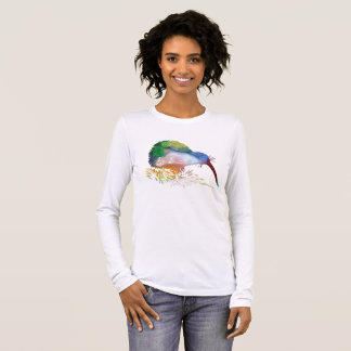 Kiwi Bird Art Long Sleeve T-Shirt