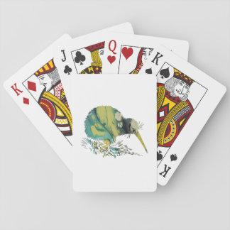 Kiwi Bird Art Playing Cards
