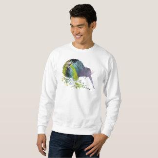 Kiwi Bird Art Sweatshirt