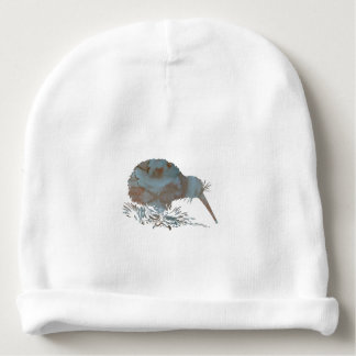 Kiwi bird baby beanie