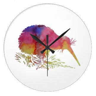 Kiwi bird large clock