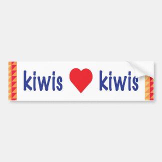 Kiwi bumper sticker