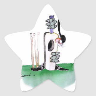 kiwi cricket batting lesson, tony fernandes star sticker