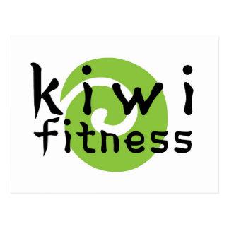 Kiwi Fitness Postcard