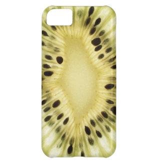 Kiwi fruit burst closeup iPhone 5C cover