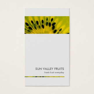 Kiwi Fruit Closeup Wholesale Business Card