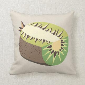 Kiwi fruit illustration cushion