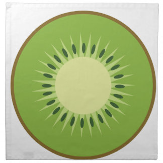 kiwi fruit napkin