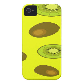 Kiwi fruit pattern iPhone 4 case