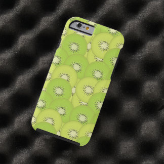 Kiwi Fruit Pattern Tough iPhone 6 Case