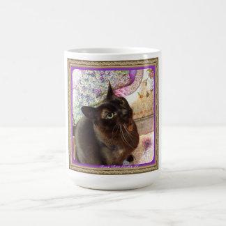 Kiwi in a Box, series 1, pose 2, plum Coffee Mug