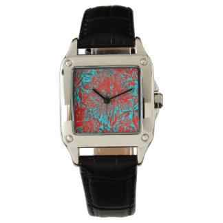 """Kiwi Lifestyle"" - Pohutukawa NZ Bloom Huee Wristwatches"