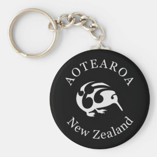 KIWI New Zealand Aotearoa national bird Keychain