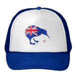 kiwi New Zealand flag soccer football gifts Cap