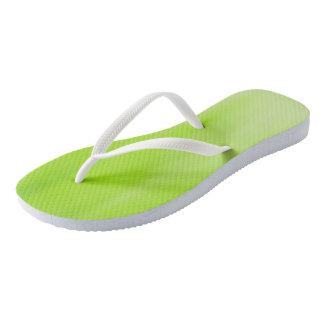Kiwi Ombre Wave flip-flops Thongs