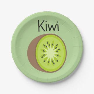 Kiwi Paper Plate