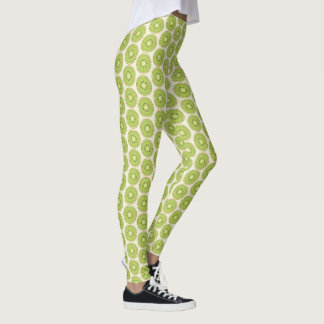 Kiwi Pattern Leggings