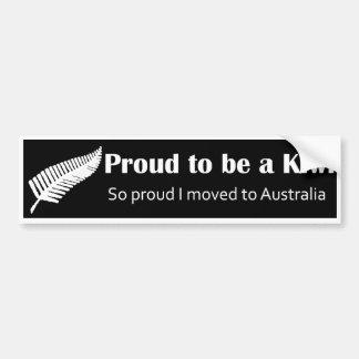 Kiwi Pride Bumper Sticker